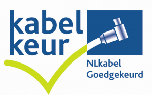 Kabelkeur goedgekeurd logo